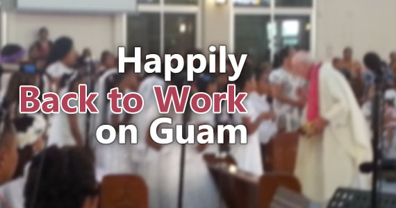 First Communion services in Guam, June 2015.